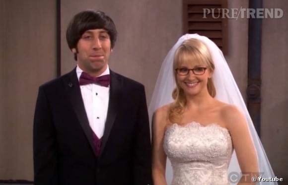 """Dans """"The Big Bang Theory"""", le mariage d'Howard et Bernadette se fait... sur le toit !"""