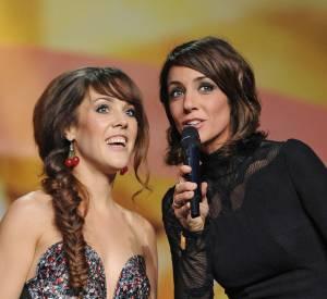 Zaz et Virginie Guilaume : pas de tensions entre les deux femmes, juste un petit malentendu aux Victoires de la Musique 2014.