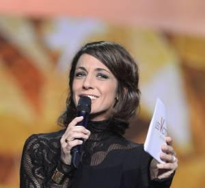 Virginie Guilhaume, la pétillante animatrice a su rattraper la bourde et a lu le texte elle-même aux Victoires de la Musique 2014.