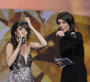 Virginie Guilhaume aux Les Victoires de la Musique 2014 : l'animatrice pensait que Zaz plaisantait quand elle a refusé de lire le texte sur le prompteur.