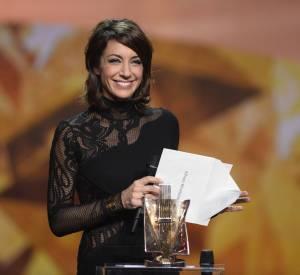 Virginie Guilhaume, la présentatrice a illuminé Les Victoires de la Musique 2014.