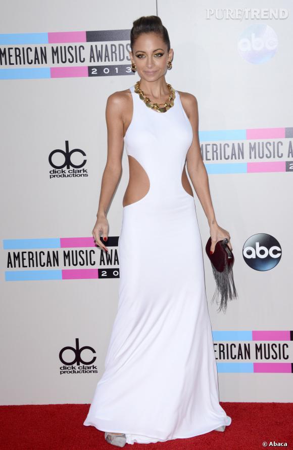 Nicole Richie n'est pas toujours habillée tendance SM.