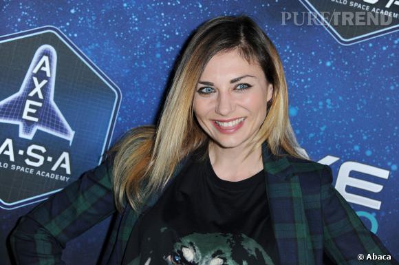 Ariane Brodier aux 30 ans d'Axe, en janvier 2013.