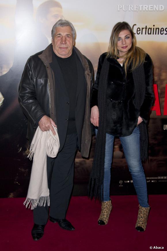 """Ariane Brodier lors de l'avant-première de """"Jappeloup"""" en février 2013."""