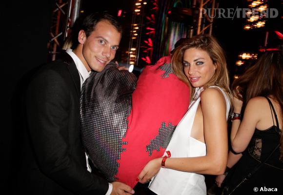 """Ariane Brodier et matthieu Gauthier lors du concert de chérité """"Night for Life"""" en septembre 2013."""