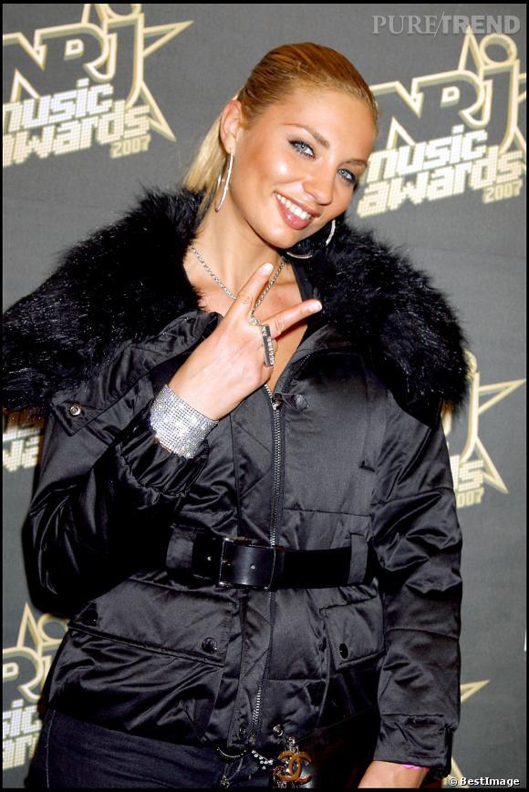 Ariane Brodier aux NRJ Music Awards 2007.