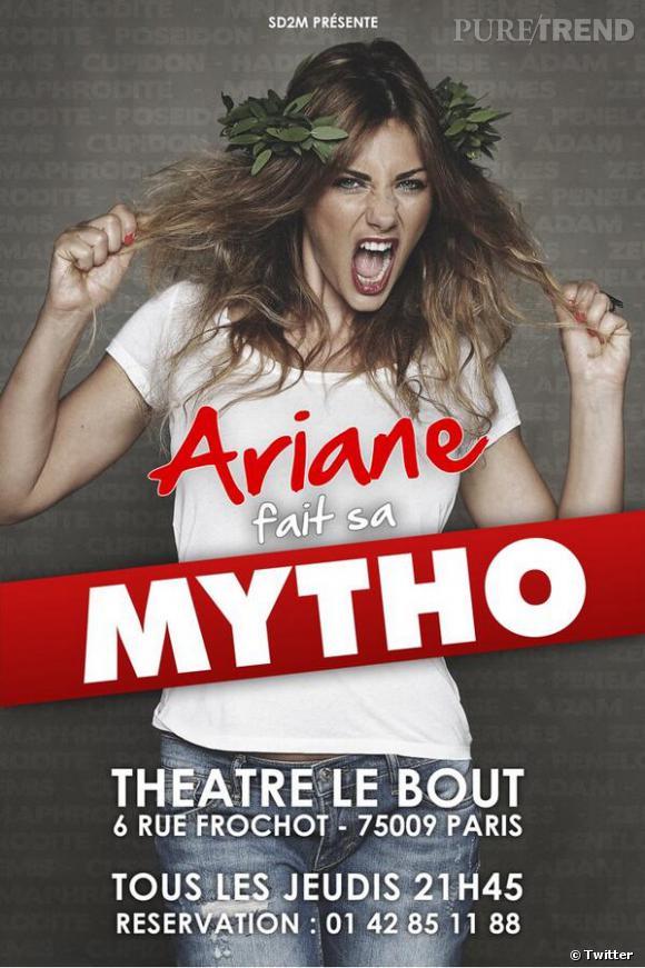 "Ariane Brodier est aussi une humoriste et a son propre one woman show : ""Ariane fait sa mytho""."