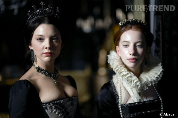 "Natalie Dormer alias Ann Boleyn dans ""Les Tudors""."