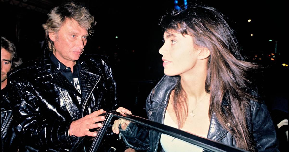 Adeline blondieau en couple avec johnny hallyday en 1989 puretrend - Bernard montiel son compagnon ...