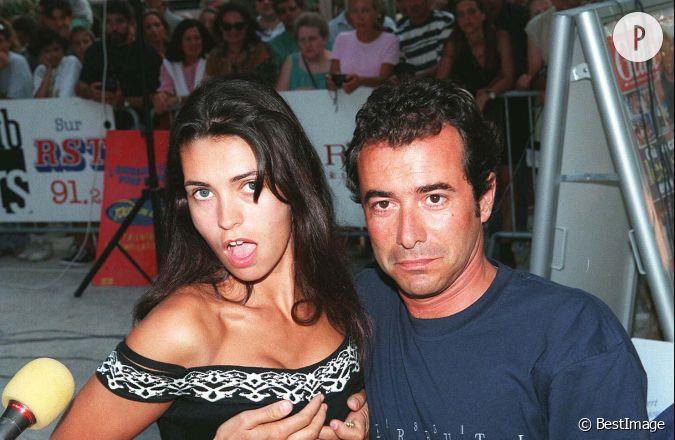 Adeline blondieau et bernard montiel au club des stars saint tropez en 1996 - Bernard montiel son compagnon ...