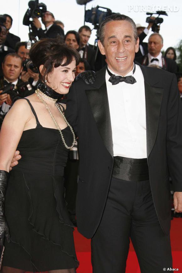 Thierry Ardisson et son ex-femme, Béatrice, en 2007.