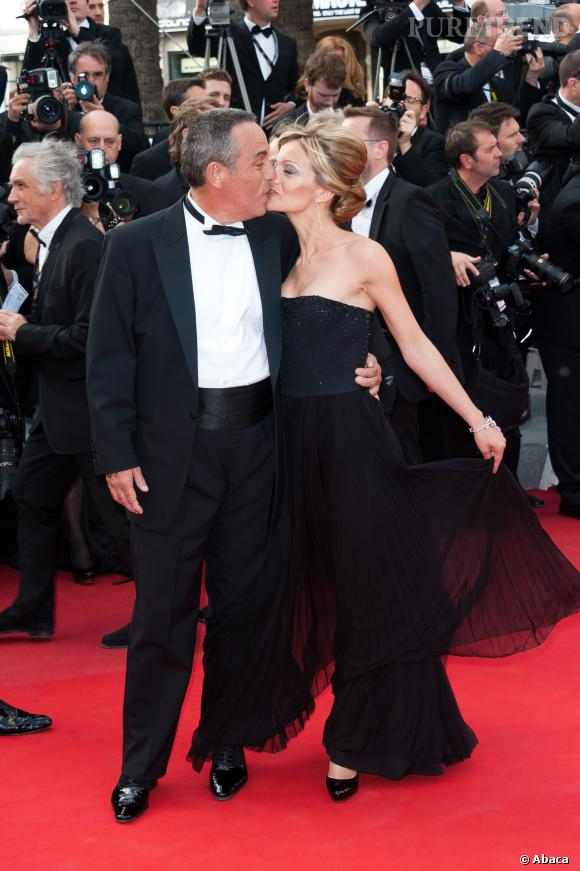 Thierry Ardisson et Audrey Crespo-Mara, inséparables sur les red carpets.