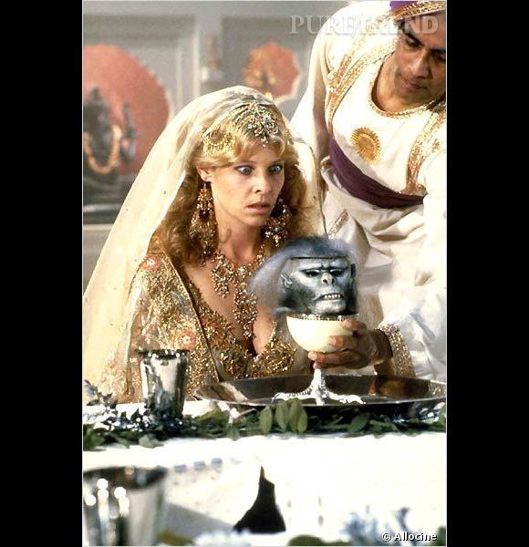 Kate Capshaw, rôle féminin principal dans Indiana Jones et le Temple maudit. Elle est maintenant la femme de Steven Spielberg.