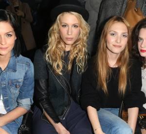 Leigh Lezark, Marie de Villepin, Joséphie de la Baume et Roxane Mesquida au défilé H&M Automne-Hiver 2014/2015.