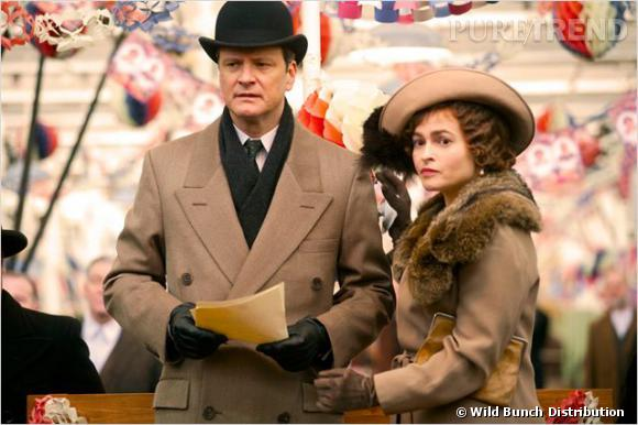 """Colin Firth et Helena Bonham Carter dans """"Le discours d'un roi""""."""