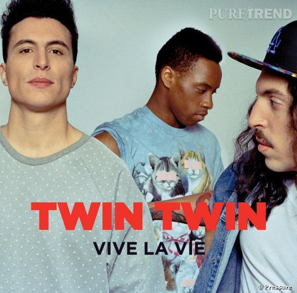 """Les Twin Twin ont déjà sorti un album """"Vive La Vie"""" en 2013."""