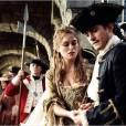 """""""Pirates des Caraïbes : Le Secret du Coffre Maudit"""" : pour arborer sa longue chevelure, Keira Knightley qui avait encore les cheveux courts pour le film """"Domino"""", a dû porter des extensions."""