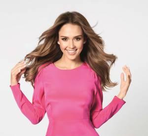 Jessica Alba : sa crinière égérie des produits de beauté Braun