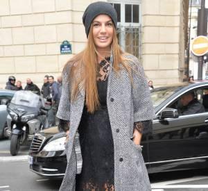 Bianca Brandolini d'Adda chez Giambattista Valli Automne-Hiver 2014/2015.