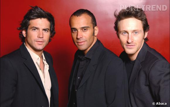 Filip, Adel et Frank des Be3 en 2004.