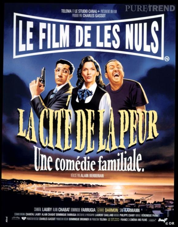 """Chantal Lauby dans """"La cité de la peur""""."""