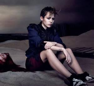 Miley Cyrus pose pour la nouvelle campagne Printemps-Été 2014.