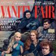 """Pour le mois d'avril 2014, Vanity Fair s'offre une partie du casting de """"Game of Thrones""""."""