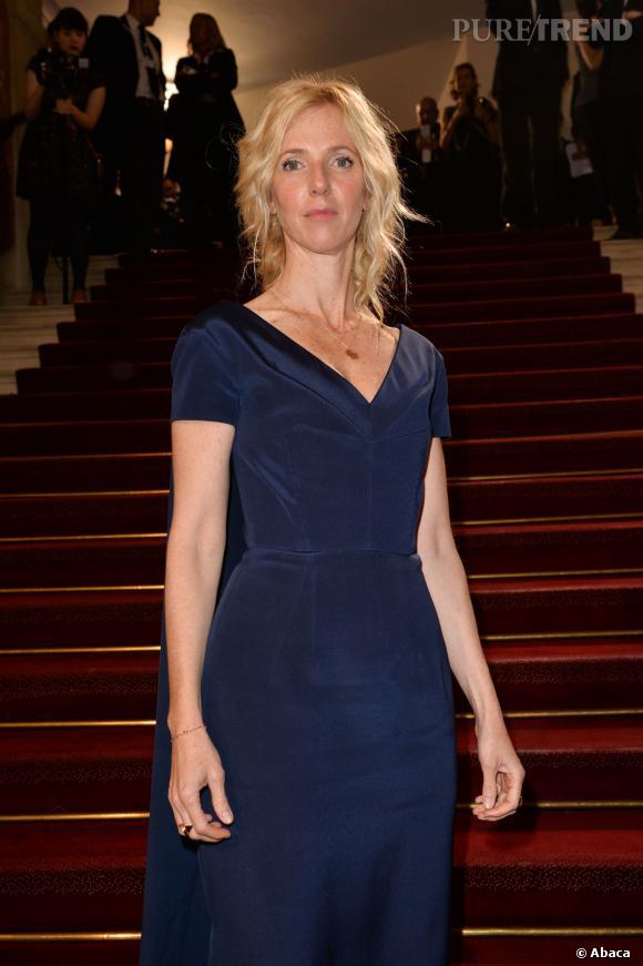 Sandrine Kiberlain lors de la cérémonie des César, le 28 février 2014.