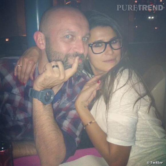 Autre homme dans la vie de Karine Ferri, son manager Olivier Ottin.