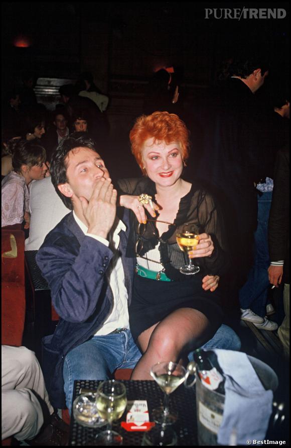 Thierry Lhermitte et Josiane Balasko en 1986.