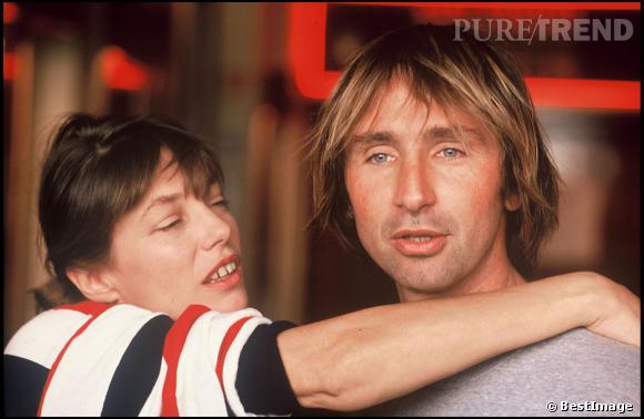 Thierry Lhermitte et Jane Birkin en 1988.