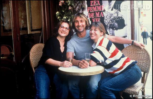 Josiane Balasko, Thierry Lhermitte et Jane Birkin en 1988.