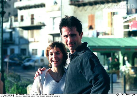 Thierry Lhermitte et Véronique Jannot au Festival du Film de Bastia en 1994.