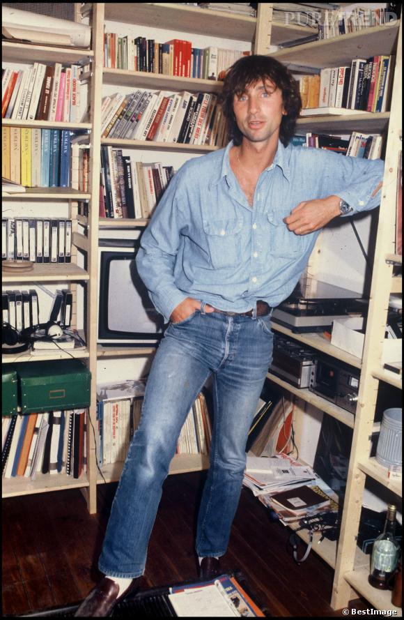 Thierry Lhermitte au début des années 80.
