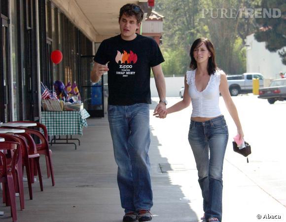 John Mayer et Jennifer Love Hewitt en juillet 2002.