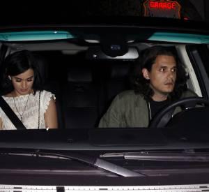 John Mayer et Katy Perry en juillet 2012, sa dernière petite copine.