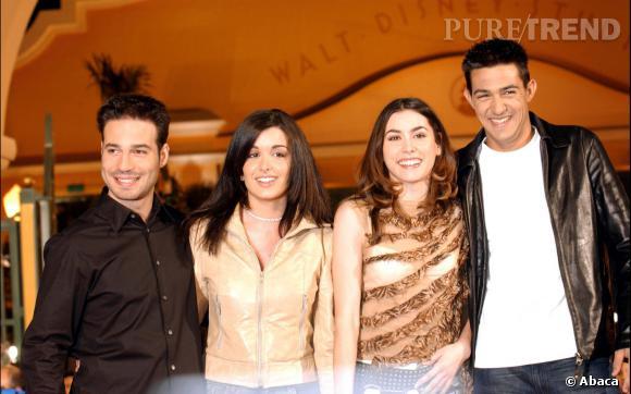 """Jenifer et Jean-Pascal Lacoste se sont rencontrés pendant la première saison de """"Star Academy"""" en 2001."""