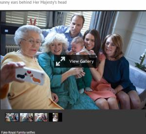 Un selfie royal complètement dingue pour Kate et William