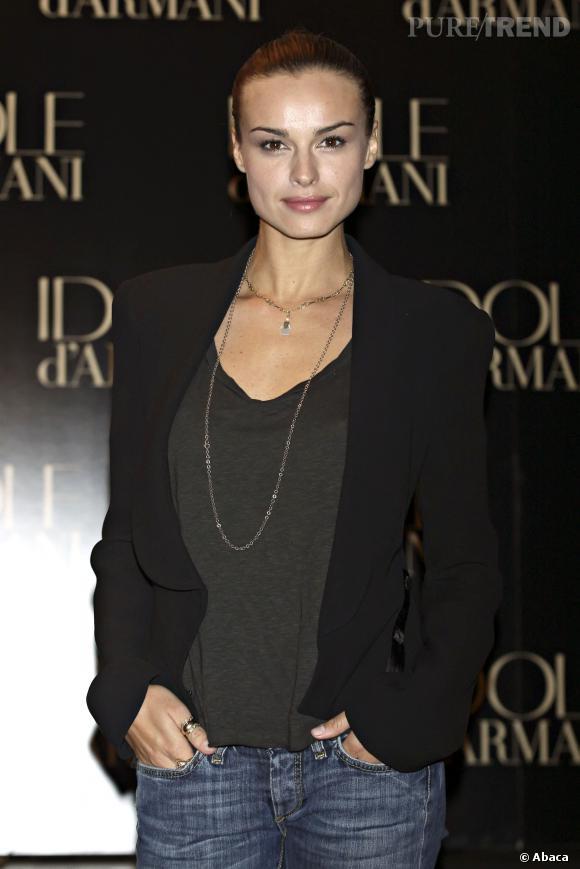 Kasia Smutniak, un style plus casual mais chic au quotidien.