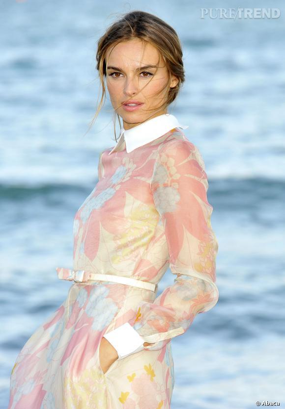 Kasia Smutniak, une beauté romantique.