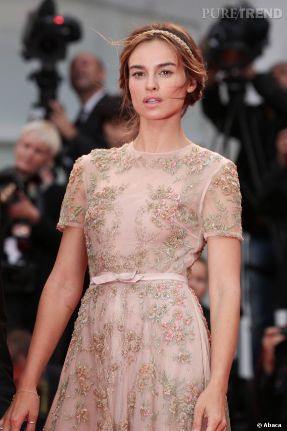 Kasia Smutniak, incarnation du romantisme au Festival du Film de Venise en 2012.