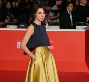 Kasia Smutniak, absolument renversante sur le tapis rouge du Festival du film de Venise.