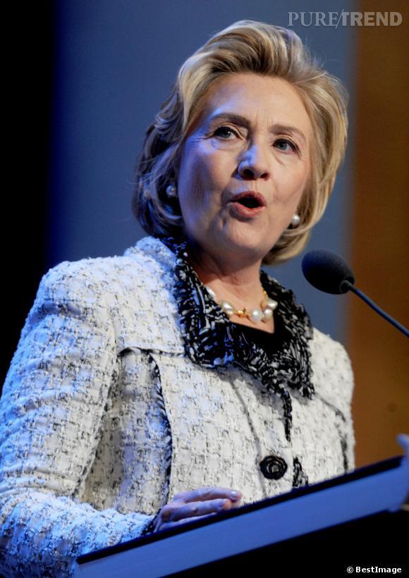 Pour Hillary, femme de pouvoir accomplie, la politique c'est du sérieux !