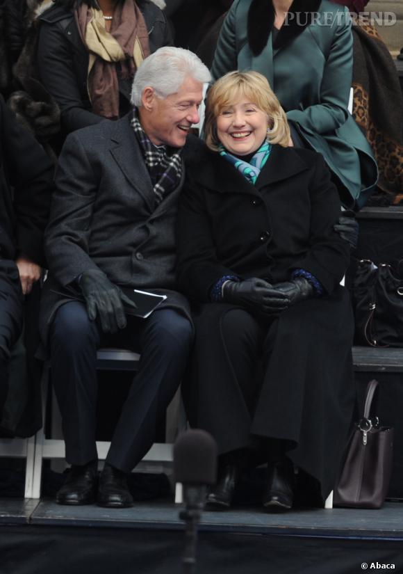 Hillary et Bill Clinton toujours aussi amoureux.