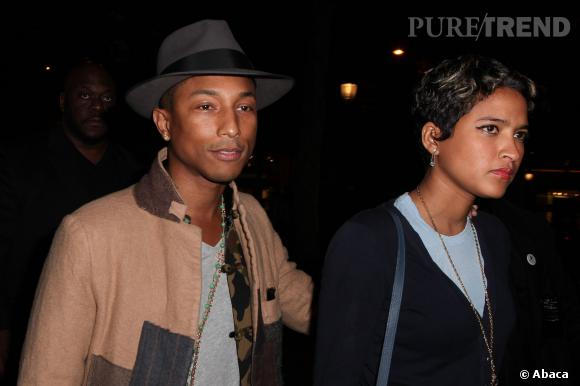 Pharrell et son épouse, le mannequin  Helen Lasichanh.