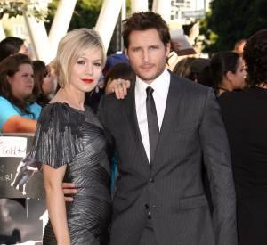 Jenny Garth et Peter Facinelli au Festival du film de Los Angeles en 2010.