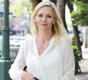 Jenny Garth sur le tournage d'un téléfilm en juin 2012.