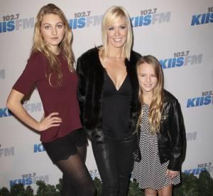 Jenny Garth et ses filles Luca (l'aînée) et Lola en décembre 2012.