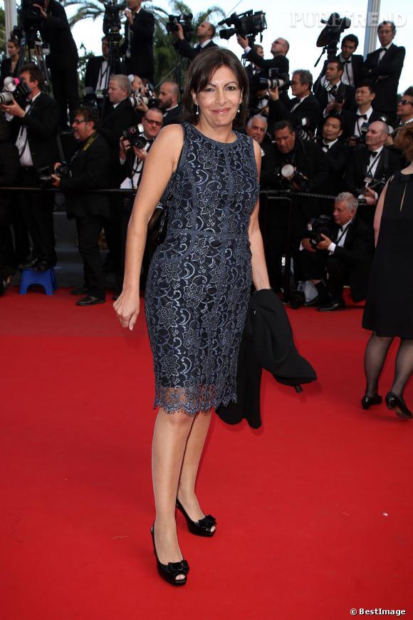 Anne Hidalgo au Festival de Cannes en 2013.
