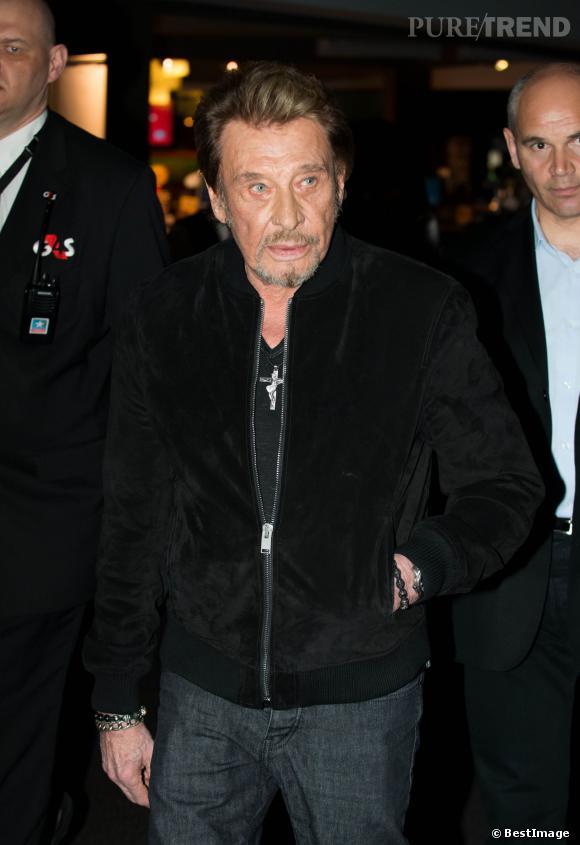 """Johnny Hallyday est à l'affiche du nouveau film de Claude Lelouch, """"Salaud, on t'aime""""."""